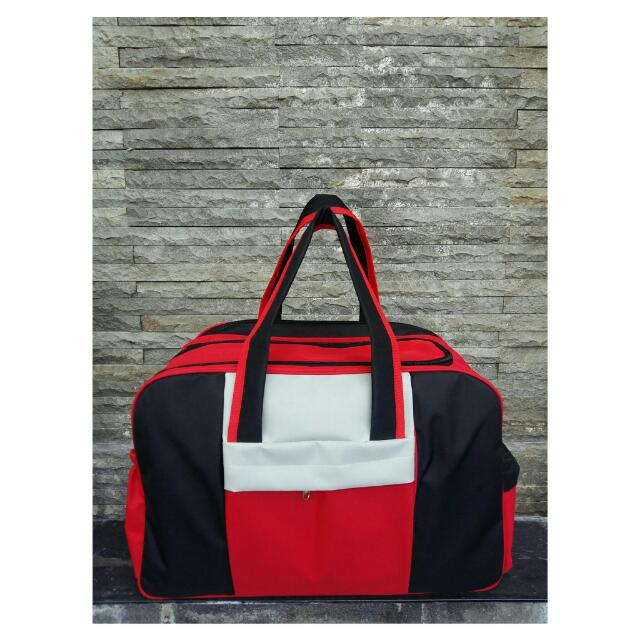 TBB/Travel Baby Bag Hitam-merah