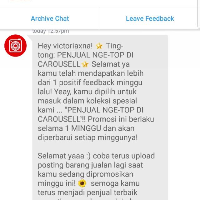Thank youu Carousell