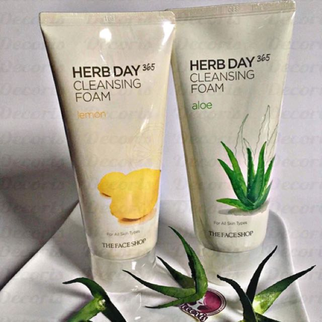 The Face Shop Herb Day 365 Cleansing Foam 170ml