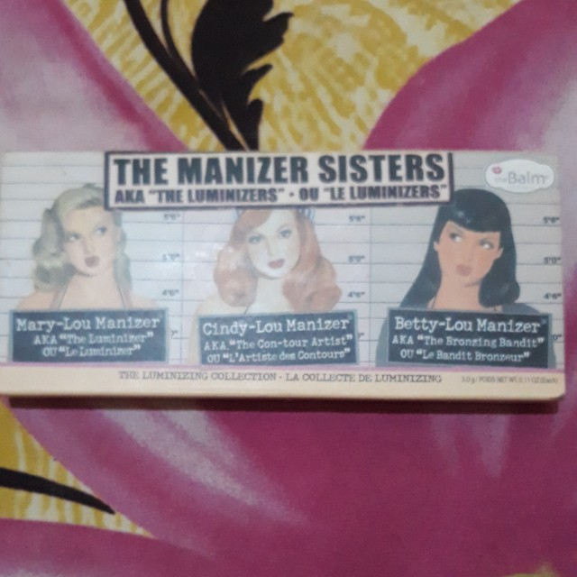 "The manizer sister ""the luminizers"""