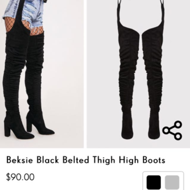 Thigh high boots - BRAND NEW IN BOX!