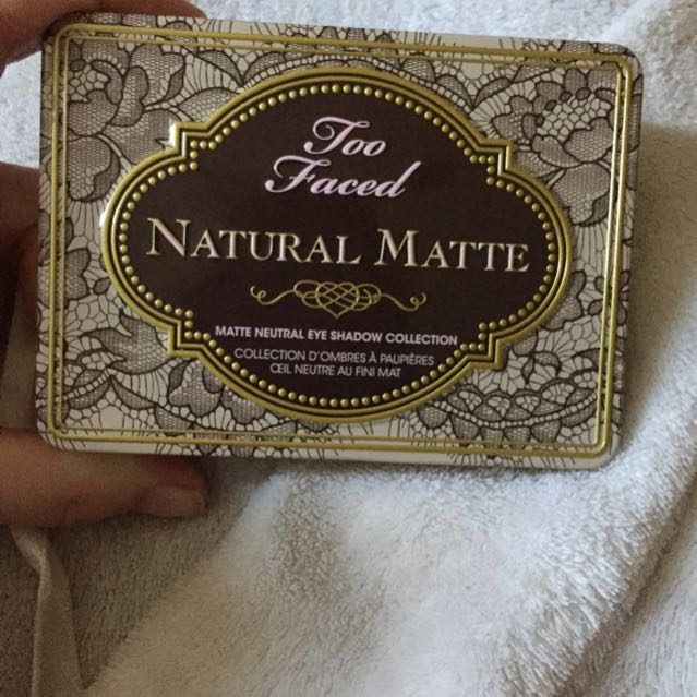Too faced matte natural