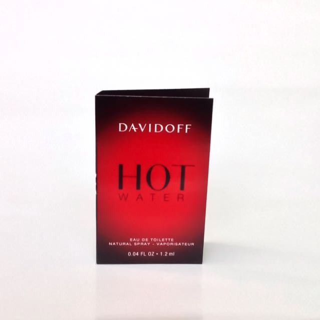 Vial-Davidoff Hot Water Parfum for Him EDT Spray Sample-Miniatur-Tester