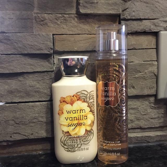 Warm vanilla sugar perfume&cream (amazing for a gift!)