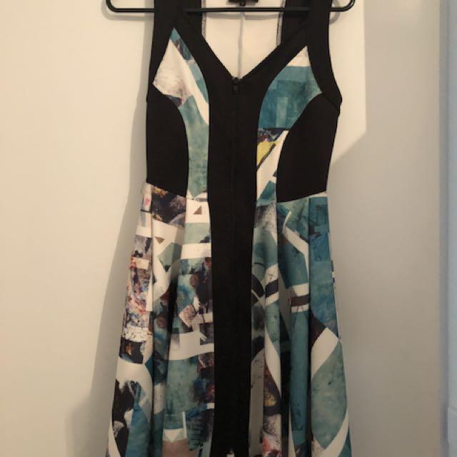 Wayne by Wayne Cooper Size 8 Spring Racing Dress