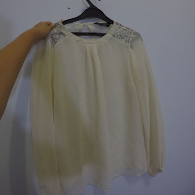 White blouse Dorothy Perkins