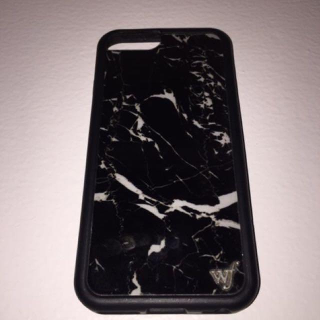 Wildflower Black Marble Case