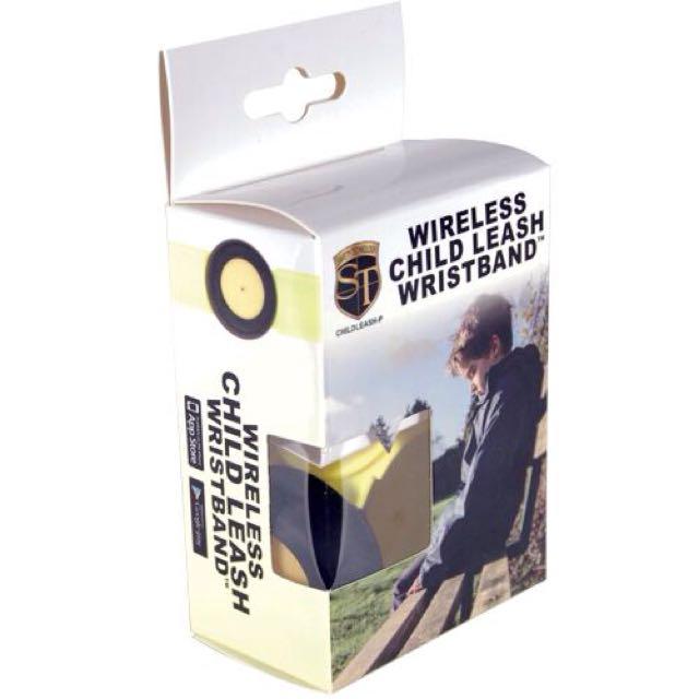 Wireless Child Leash Yellow and Black