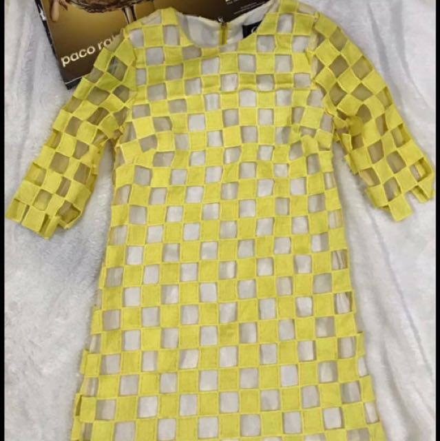 Yellow Omila Dress