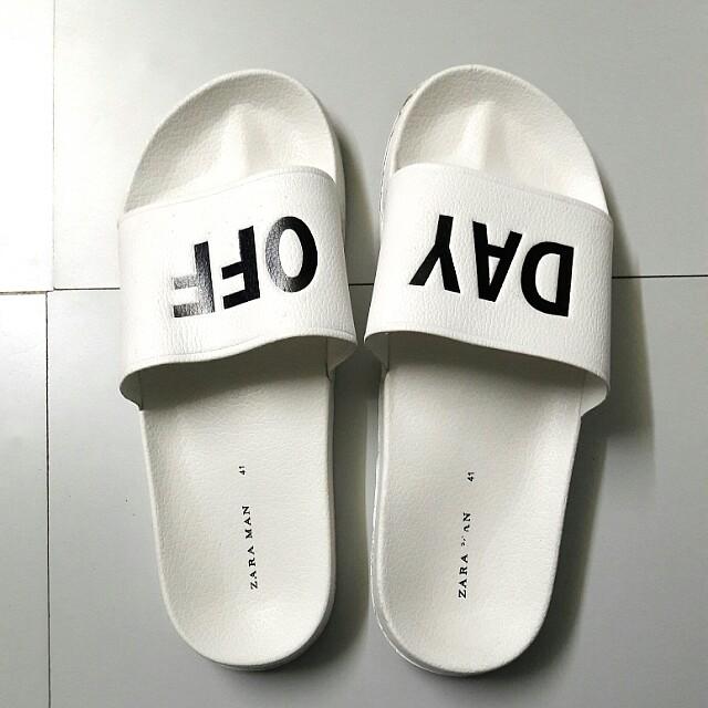 ZARA Slippers (DAY OFF)