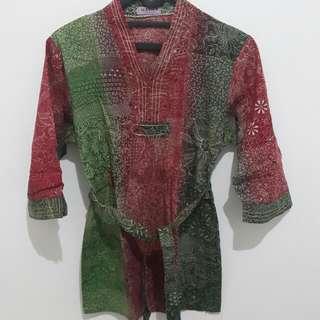 Kemeja/blouse Batik