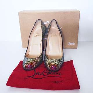 Christian Louboutin Crystal Pumps 7.5