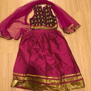 New 2yo punjabi suit from India