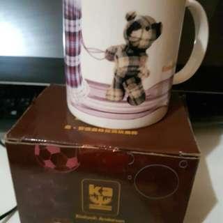 🚚 安德森格紋熊玩樂杯