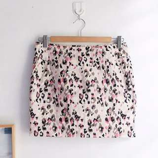 Mini Skirt Leopard