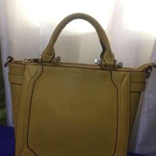 Topshop Mustard Bag