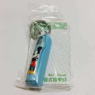 迪士尼米奇折疊型安全指甲剪