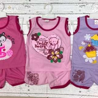 Baby Cewe - Fashion - baju Santai Setelan anak Perempuan