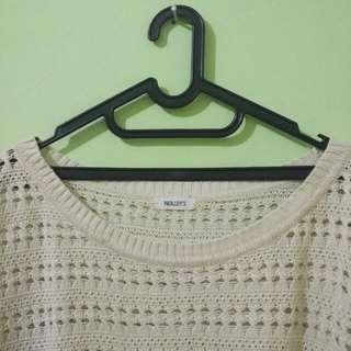 Knitted Sweater Broken White