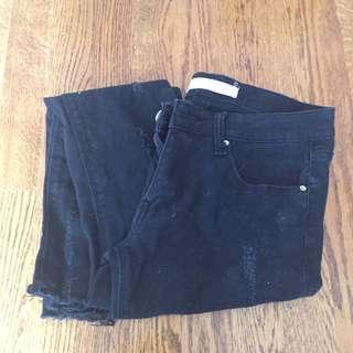 Black Jeans (mid rise size 2)
