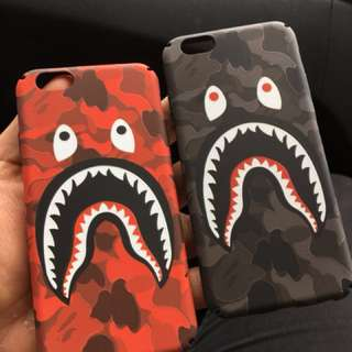 Camouflage Shark iPhone Case
