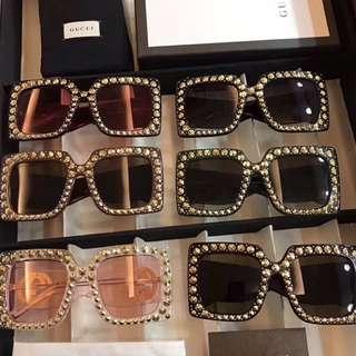 Brand sunglasses with box