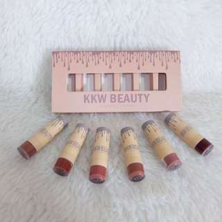 Kylie Beauty 6pcs Lipstick Set A&B