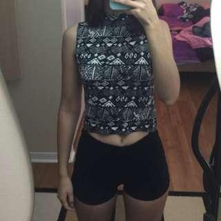 Tank top&Shorts