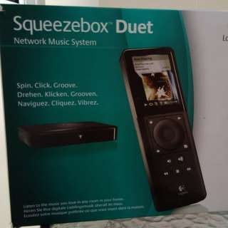 Logitech Squeezebox music network player (audiophile quality)