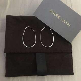 Mark lash silver earring