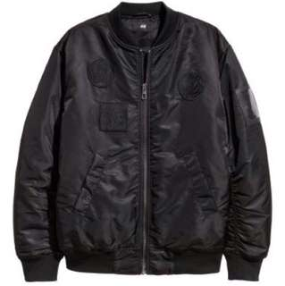 H&M x The Weeknd - black bomber $250 OBO