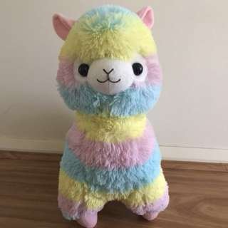 Rainbow Alpacasso