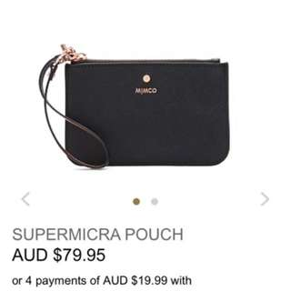 LOOKING FOR: Black Wristlet Pouch