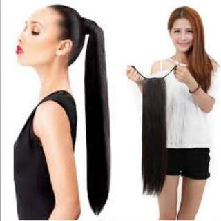 Synthetic Straight / Wavy Hair Extension Pony (FREE Shipping & COD)