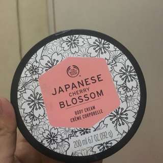 The body shop body cream