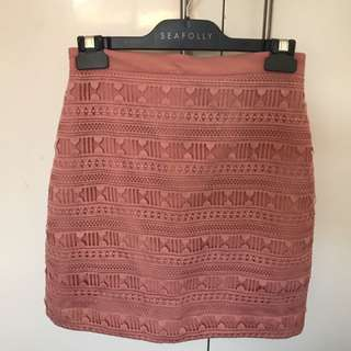 Kookai Lace Skirt