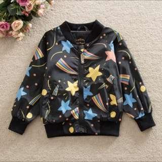 Boy girl unisex baby kid infant toddler newborn jacket coat windbreaker