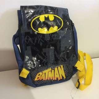 Cute Kids Batman Backpack