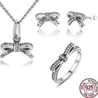 Pandora Jewelry Set 925 Silver