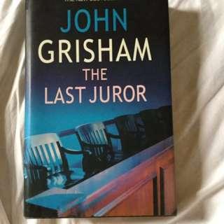 The Last Juror hardbound book
