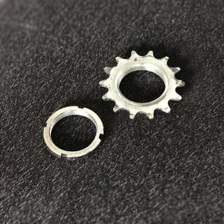 14t Cog and Lockring