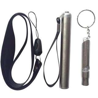 New LED flashlight With Whistle And Lanyard