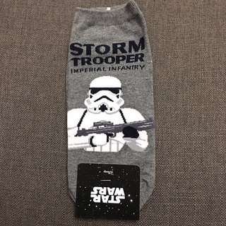Star Wars Grey Stormtrooper Ankle Socks