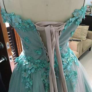 Gown made to order