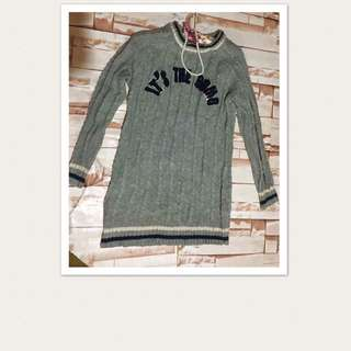 Pull over knitted