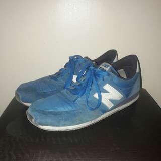 New Balance 420 Blue White Sneakers for Men