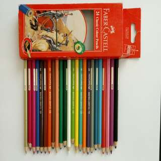 Colored Pencils (Faber Castell)