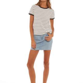 **REDUCED** ALL ABOUT EVE STRIPED TSHIRT