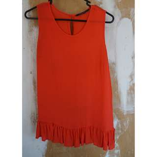 Coral Top from Glassons, Size 6/8