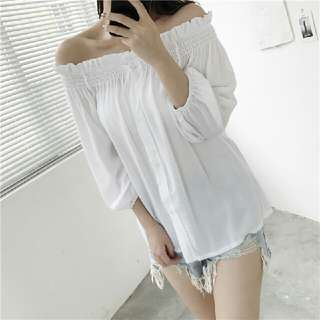 Sabrina White shirt #A31092